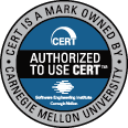 Authorized to use CERT™