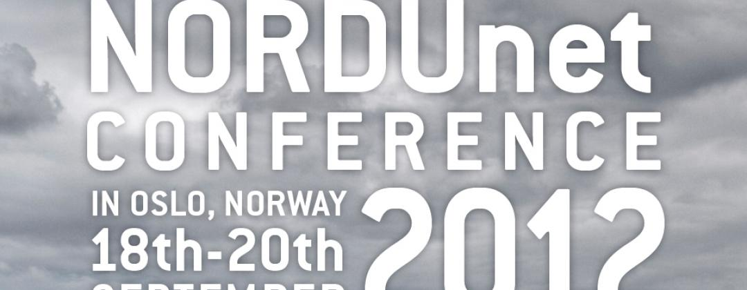Registration for the NORDUnet Conference 2012 has started